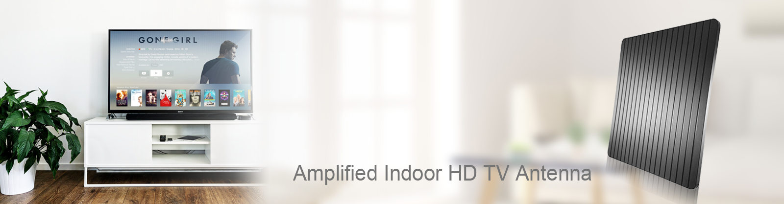 Amplified INDOOR HD TV Antenna